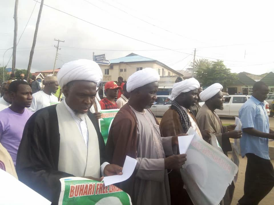 free zakzaky in abuja 17th july 2018